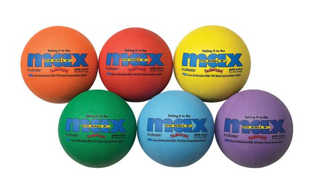 Playground Balls, Rubber Playground Balls, Playground Balls Bulk, Item Number 016205