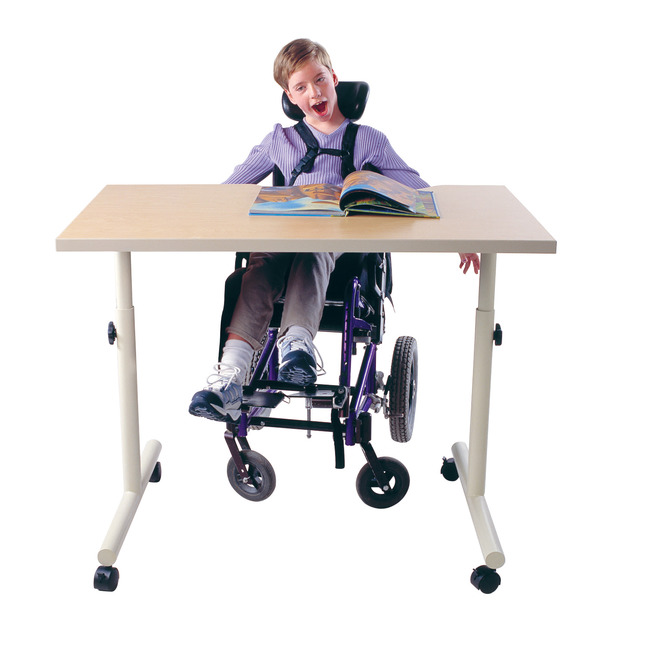 Pleasing School Specialty Wheelchair Accessible Adjustable Height Desk With Tilt Adjustable Top 36 X 30 X 23 33 Inches Cjindustries Chair Design For Home Cjindustriesco