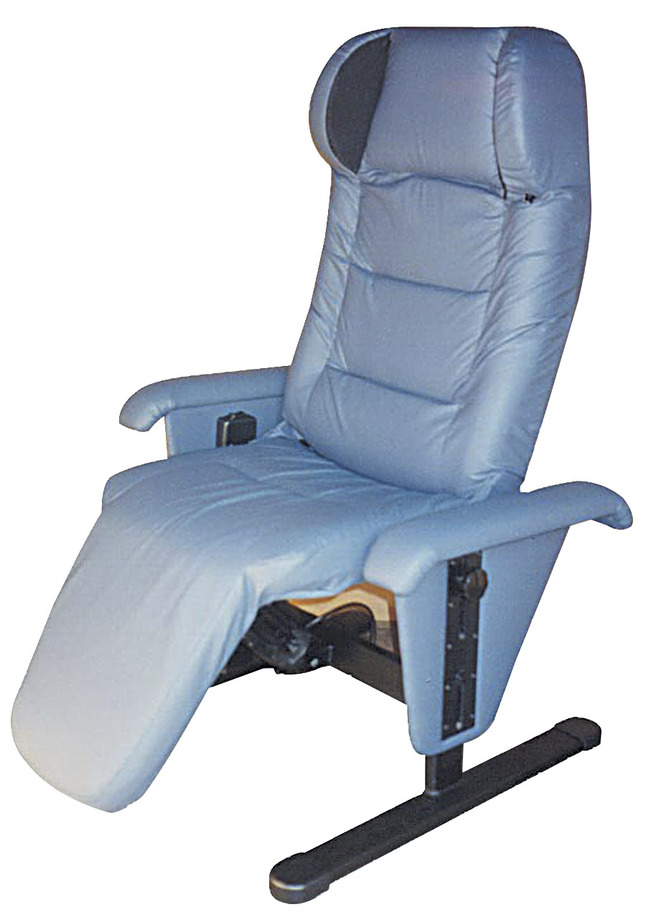 Brilliant Somatron Ez Access Vibrating Recliner For Relaxation Therapy 45 X 33 X 45 Inches Vinyl Assorted Color Squirreltailoven Fun Painted Chair Ideas Images Squirreltailovenorg