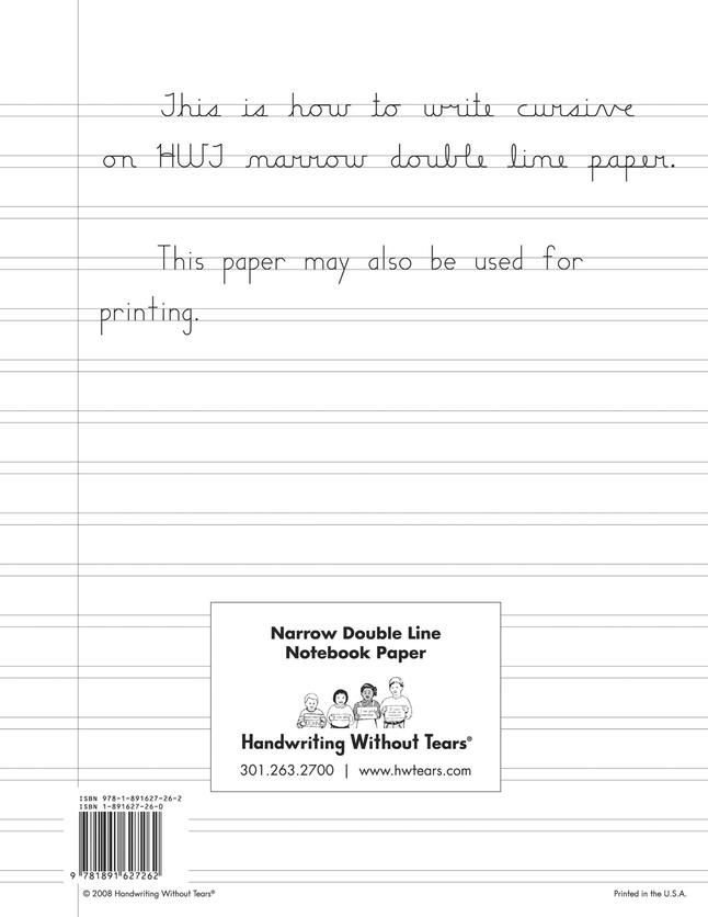 Fine Motor Handwriting , Item Number 017778