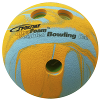 Sportime UltraFoam Bowling Ball, Weighted, Multi-Color, 1 Pound Item Number