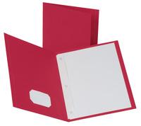 2 Pocket Folders , Item Number 021573