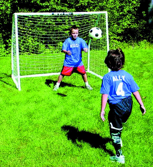 Soccer Goals, Portable Soccer Goals, Soccer Goals for Kids, Item Number 022239