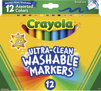 Washable Markers, Item Number 024031