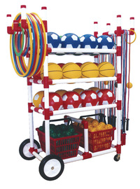 Sports Equipment Storage & Carts , Item Number 024786