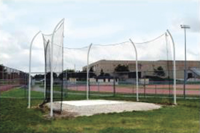 Track and Field, Discus Net, Item Number 25235