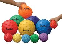Sportime Large SloMo BumpBalls, 8-1/2 to 10 Inches, Assorted Colors, Set of 6 Item Number 025841