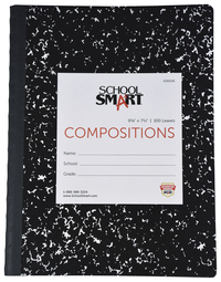 Composition Books, Composition Notebooks, Item Number 026026