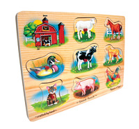 Early Childhood Chunky Puzzles, Item Number 026496