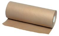 School Smart Butcher Kraft Paper Roll, 40 lbs, 24 Inches x 1000 Feet, Brown Item Number 027174