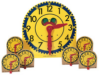 Telling Time, Time Games Supplies, Item Number 030-5227