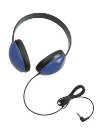 Califone 2800-BL Listening First Stereo Headphones, Blue Item Number 030951
