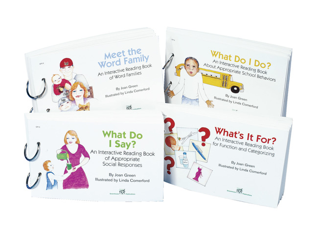 Special Needs Reading Resources, Item Number 031006
