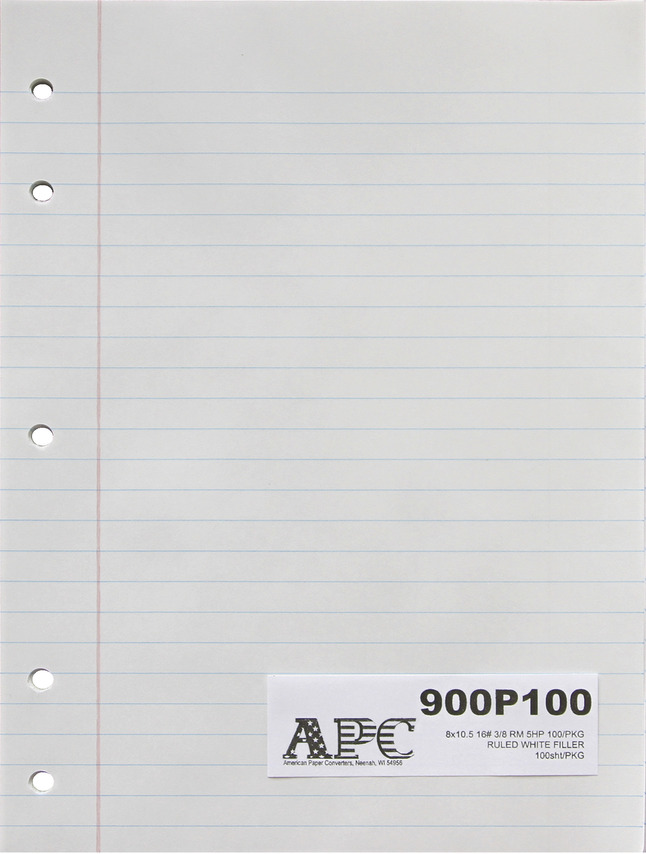 Lined Paper, Primary Ruled Paper, Item Number 031328