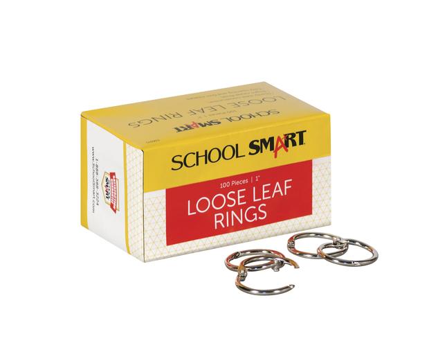 Binder Rings and Book Rings, Item Number 036975