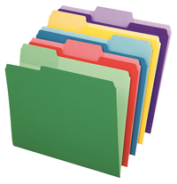Top Tab File Folders, Item Number 038044