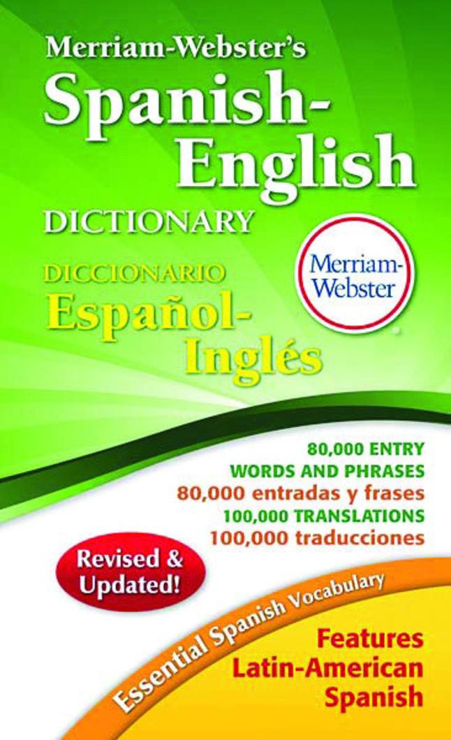 Dictionary, Item Number 038427