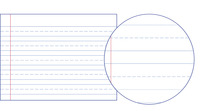Lined Paper, Primary Ruled Paper, Item Number 038711
