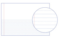 Lined Paper, Primary Ruled Paper, Item Number 038712