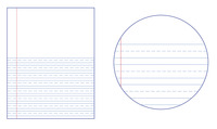 Lined Paper, Primary Ruled Paper, Item Number 038719
