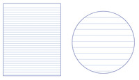 Lined Paper, Primary Ruled Paper, Item Number 038777