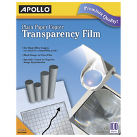 Overhead Transparency Film and Sheets, Item Number 039269