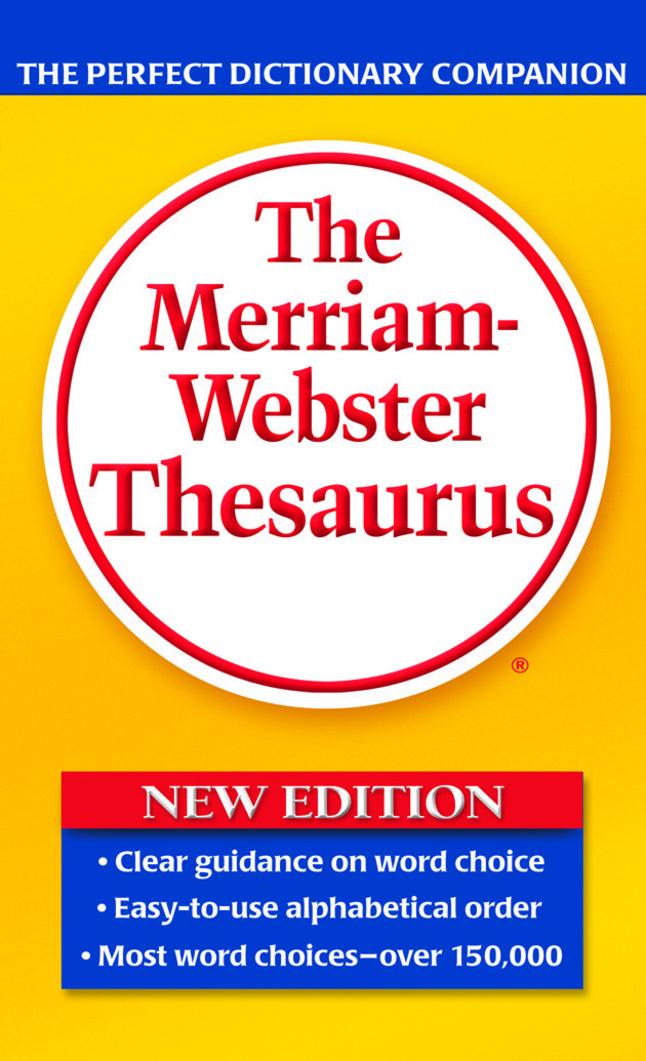 Thesaurus, Item Number 040281