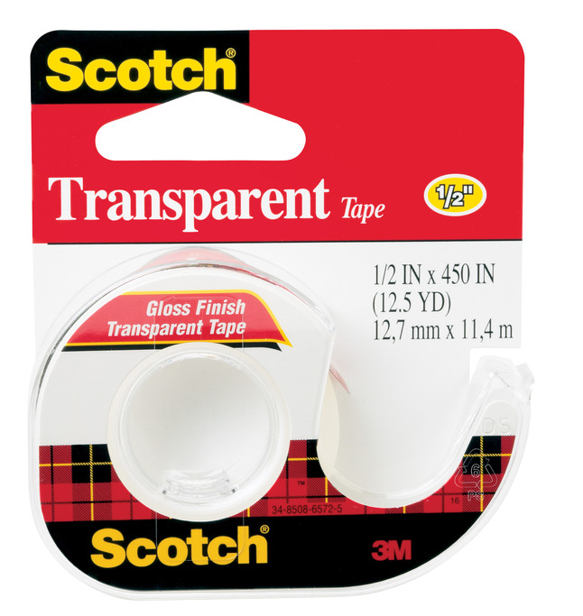 Clear Tape and Transparent Tape, Item Number 040491