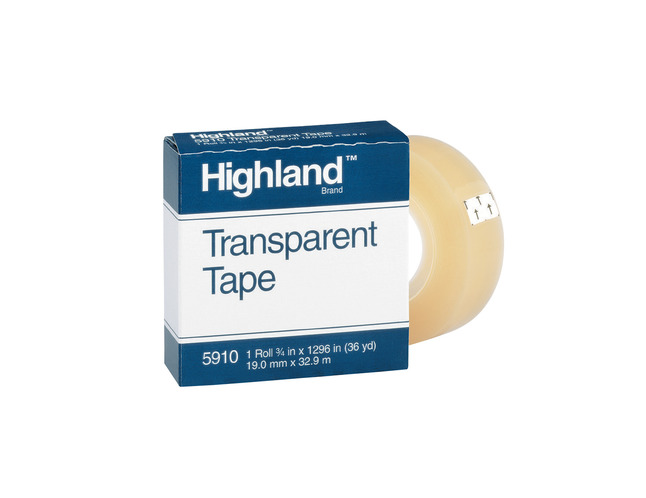 Clear Tape and Transparent Tape, Item Number 040599