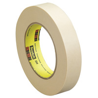 Scotch 234 General Purpose Masking Tape, 1 Inch x 60 Yard, Tan Item Number 042108