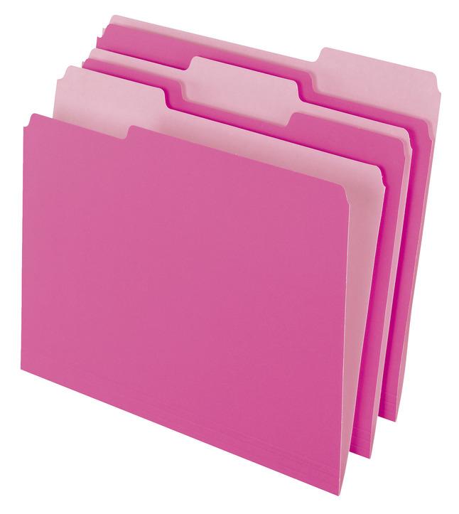 Top Tab File Folders, Item Number 044507