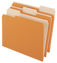 Top Tab File Folders, Item Number 044510