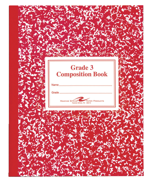 Composition Books, Composition Notebooks, Item Number 044588