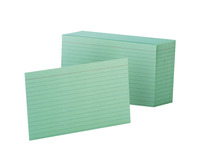 4x6 Ruled Index Cards, Item Number 048663