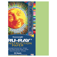 Tru-Ray Sulphite Construction Paper, 9 x 12 Inches, Chartreuse, 50 Sheets Item Number 053973