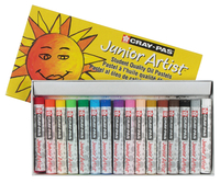 Sakura Cray-Pas Junior Artist Oil Pastels, Assorted Colors, Set of 16 Item Number 059190