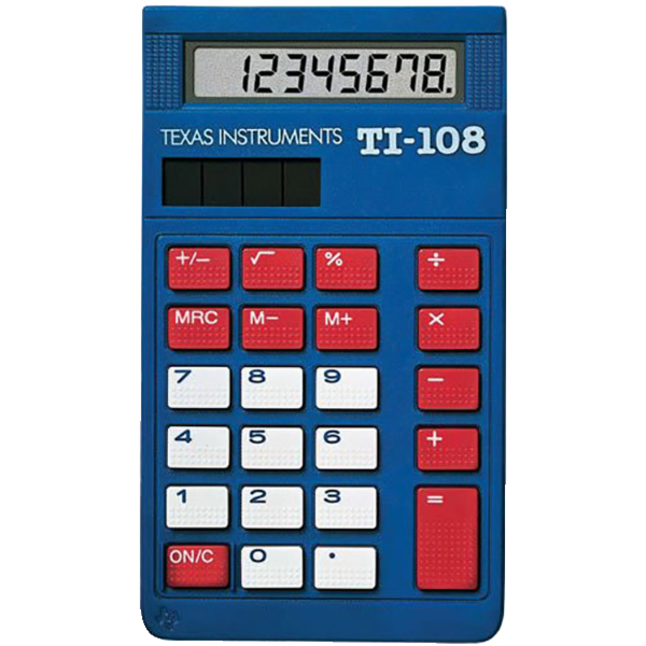 Basic and Primary Calculators, Item Number 064053