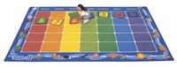 Carpets For Kids Calendar Rug, 8 Feet 4 Inches x 13 Feet 4 Inches, Rectangle Item Number 066923