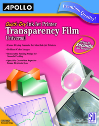 Overhead Transparency Film and Sheets, Item Number 067385