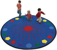 Pattern Rugs and Shapes Rugs Supplies, Item Number 067445