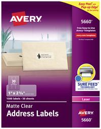 Address Labels, Item Number 067677