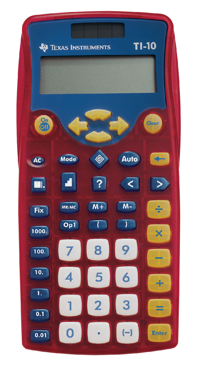 Basic and Primary Calculators, Item Number 069005