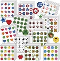 Creative Shapes Etc Incentive Stickers Bargain Bag, 3/8 Inches, Pack of 3456 Item Number