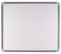 School Smart Magnetic Whiteboard, Large, 30 x 23 Inches, Aluminum Frame Item Number 070628
