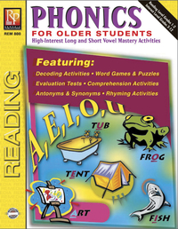 Phonics Games, Activities, Books Supplies, Item Number 070827
