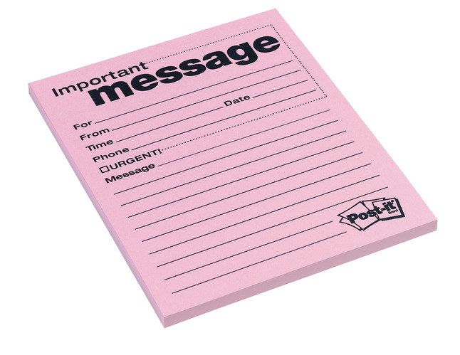 Message Pads and Message Books, Item Number 072378