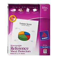 Sheet Protectors, Item Number 072620