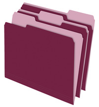 Top Tab File Folders, Item Number 072855