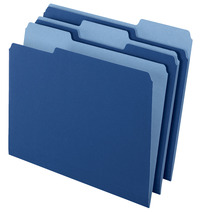 Top Tab File Folders, Item Number 072860