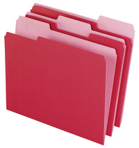 Top Tab File Folders, Item Number 072861